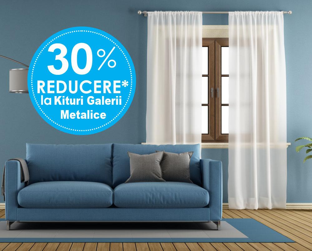Promotie 20% reducere la galeriile de metal (ornamente, console si bari metalice)